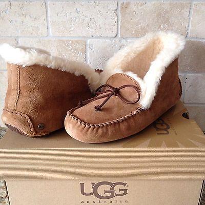 b15433d103e Loafers & Slip-Ons: Affordable Ugg Alena Slippers Moccasins Chestnut ...