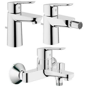 Rubinetteria completa bagno grohe startedge lavabo bidet gruppo vasca esterno ebay - Rubinetteria lavabo bagno ...