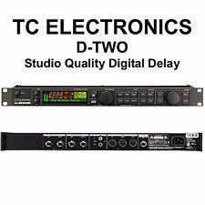 TC ELECTRONICS D-TWO Multitap Rhythm Delay Studio Live Processor