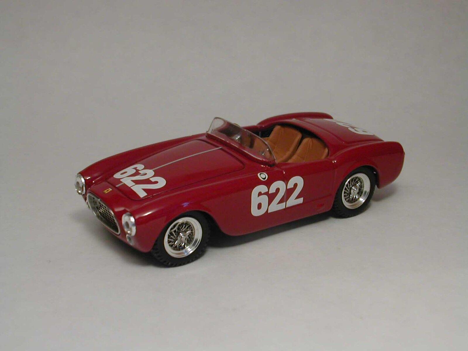ganancia cero Ferrari 225 225 225 S MM 1952  622 1 43 Model 0124 ART-MODEL  colores increíbles