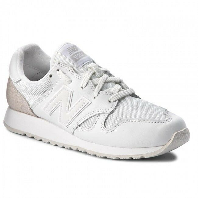 New Balance 520 Monochrome White Beige Men's Size 9 Lifestyle shoes U520AD