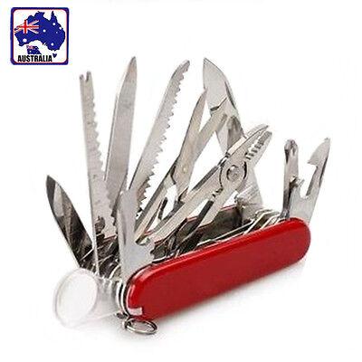 Multi Tool Pocket Knife Multi Function Knives Axe Piler Screwdriver Scissors