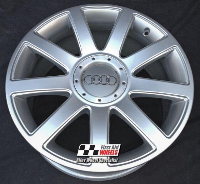 "One Audi TT Mk1 18"" 9 Spoke Alloy Wheel Rs4 Genuine OEM"