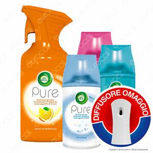 6x-Air-Wick-PURE-Spray-3x-Ricariche-Assortite-Autospray-Diffusore-OMAGGIO
