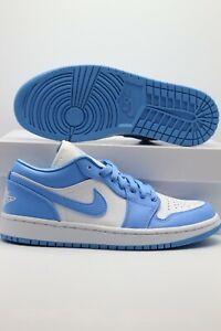 2020 Nike Air Jordan 1 Retro Low Unc Women S Sizes Ao9944 441 Ebay