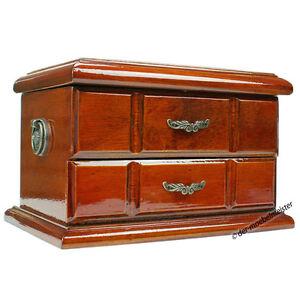 schmuckschatulle schmuckk stchen schmuckkasten schatulle truhe kiste holz antik ebay. Black Bedroom Furniture Sets. Home Design Ideas