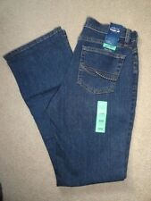 As Real As Wrangler Womens Boot Cut Classic Fit  Blue Jeans 6 x 32  WCW84MG