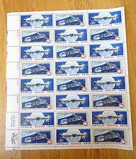 US Postage Scott #1569-70 Apollo Soyuz Stamps 10c Full Sheet MNH