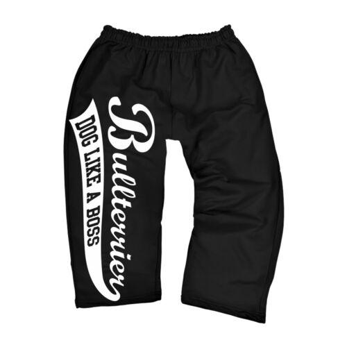 Tres cuartas partes 3//4 pantalones deportivos Training pantalones bullterrier perro los perros de raza criadores