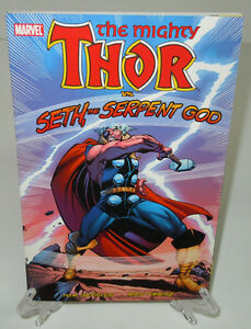 Mighty-Thor-vs-Seth-the-Serpent-God-Marvel-Comics-Brand-New-TPB-Trade-Paperback