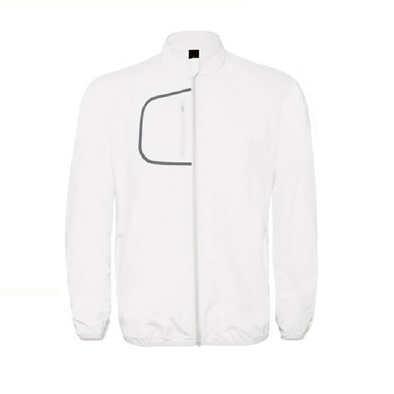 B&C Collection Dynamic Windbreaker White Unisex Jackets - XS - Free P&P