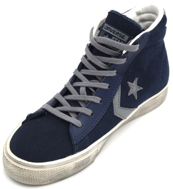 converse all star blu alte donna
