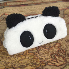 Fashion Cute Panda Soft Plush Pencil Pen Case Novelty Makeup Cosmetic Pouch Bag