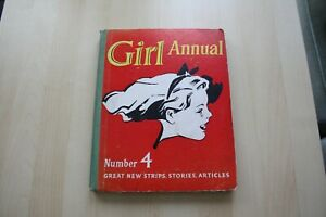 Girl-Annual-Number-4-1955-By-Marcus-Morris-Vintage-Book