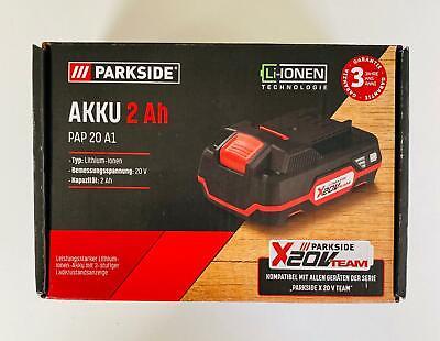 PARKSIDE Zusatzakku 4 Ah für Werkzeuge der X 20 V Familie  PARKSIDE X 20 V Team