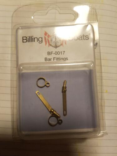 2 1 x BILLING BOATS 21mm BRAND NEW BF-0017 Bar Fittings