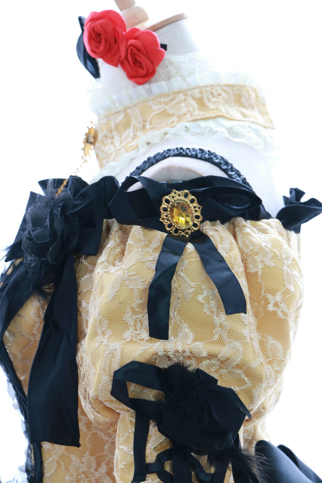 A-188 rin Cosplay victorian costume gothique robe de bal bal bal robe Costume Dress N. mesure d646ed