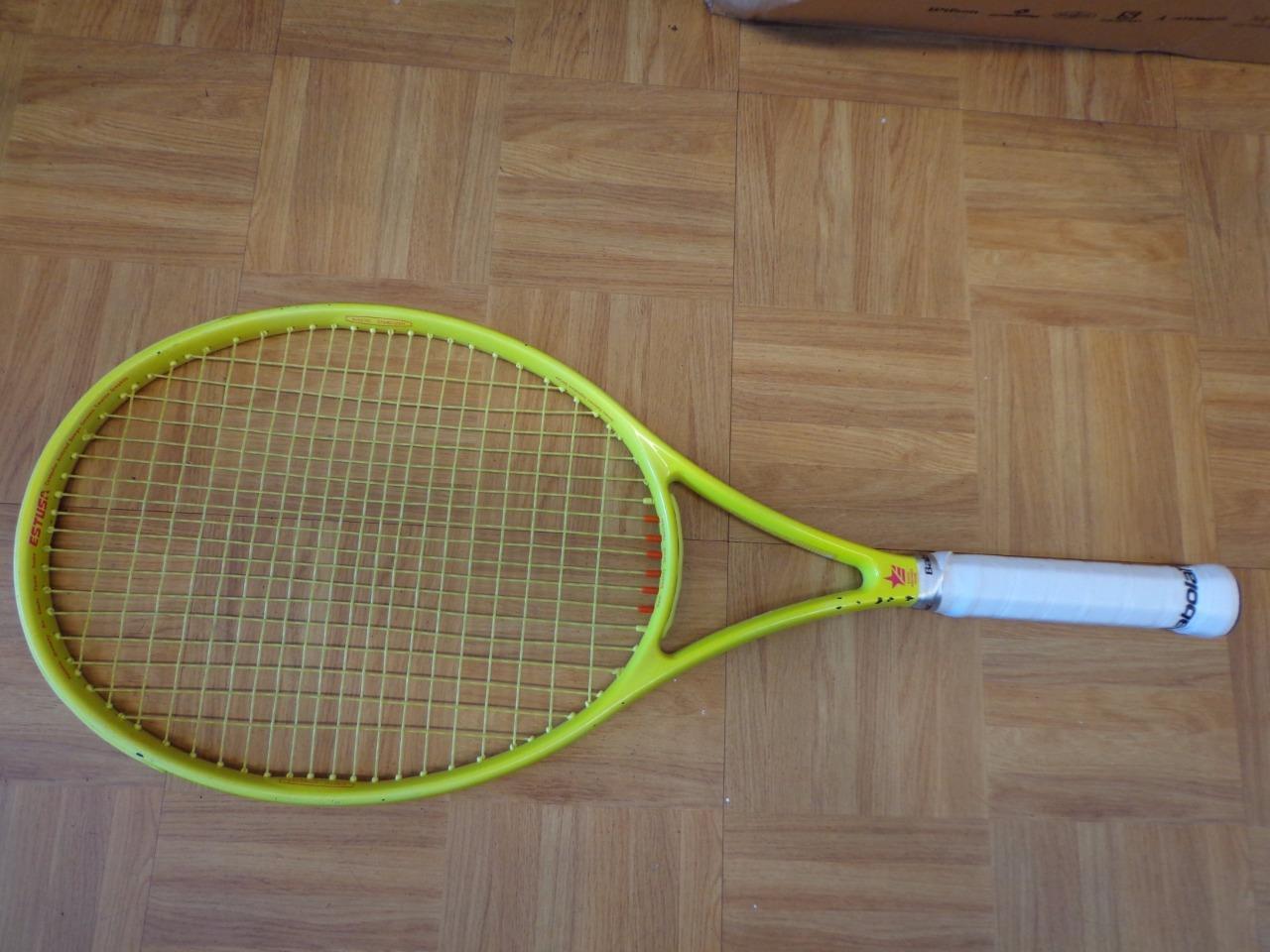 Estusa Jimmy Connors aerosupra BKS 4 3 8 Grip Tenis Raqueta