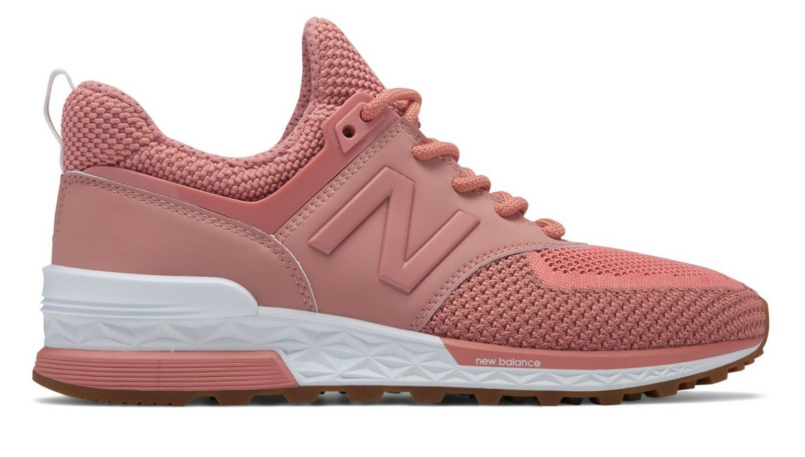 NEW BALANCE WOMEN WS574WC 574 SPORT DUSTED PEACH PINK Lifestyle Sneakers 6-10