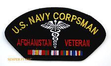 CORPSMAN AFGHANISTAN OEF VETERAN PATCH US NAVY MARINES DOC FMF USS NAVY SEALS