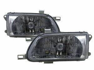 Clear Headlight Headlamp CHROME For 1998-1999 98 99 TOYOTA Tercel LHD