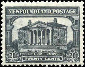 Mint-H-Canada-Newfoundland-1931-20c-F-Scott-181-Stamp