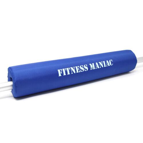 Barbell Bar Neck Shoulder Squat Bar Pad and Sponge Supports Weightlifting Squat