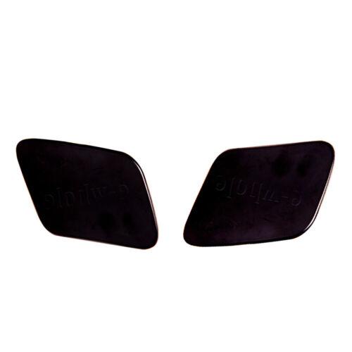 High Car Headlight Washer Bumper Cover Cap Fit For Audi A4 B6  02-05 Matte
