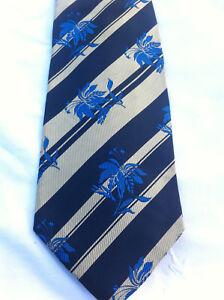 Cravate-YVES-SAINT-LAURENT-100-Soie-100-Silk-Cravatte-Vintage