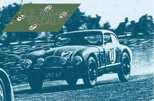Calcas Aston Martin DB1 Le Mans 1949 1:32 1:24 1:43 1:18 slot decals