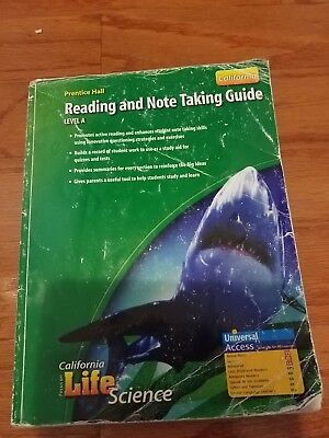 Focus On Life Science Reading And Note Taking Guide Level A California Edition 132034417 EBay