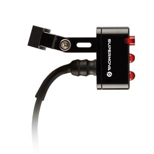 Super Nova luz trasera e3 Tail light 2 negro dinamo de bicicleta luz tija de sillín