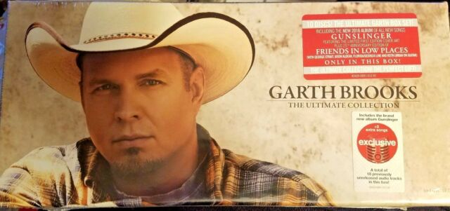 Garth Brooks The Ultimate Collection 10 CD Disc Set Gunslinger Factory Sealed