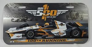 100TH-Running-2016-Indianapolis-500-Event-Collector-License-Plate-Anniversary