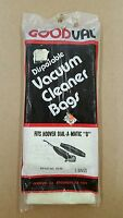 Vacuum Cleaner Bags Fits Hoover Dial - A - Matic D - 3 Bags - Style 10/35