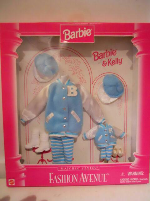 Barbie and Kelly Fashion Avenue Matchin/' Styles Denim Jacket 17292