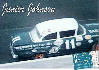 CD/_439 #21 Glen Wood  1957-58 Ford  1:64 scale decals