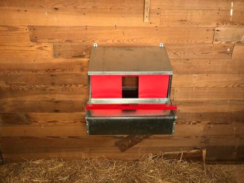 Reversible HenGear Medium Chicken Rollout Nest Box