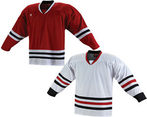 Warrior Kh130 Hockey Jersey-chicago Blackhawks-sr-afficher Le Titre D'origine