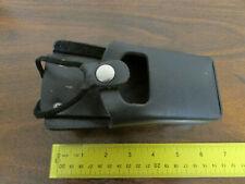 Vintage Black Leather Motorola Radio Holder 4280483b01