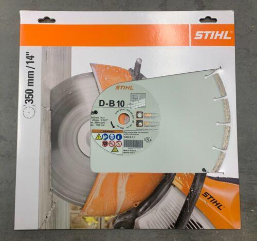 "Stihl 0835 090 9003 D-B10 Diamond Wheel for Asphalt//Concrete 14/"""