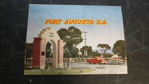 OLD-AUSTRALIAN-1950s-POSTCARD-VIEW-FOLDER-PORT-AUGUSTA-SOUTH-AUSTRALIA