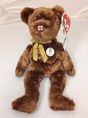 VERY RARE Original Beanie 2002 FIFA World Cup Korea The Champion Bear