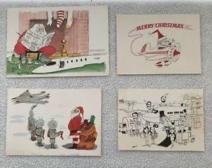 VTG-Lot-Assorted-Various-Christmas-Cards-Santa-Seasons-Greetings-Merry-Christmas
