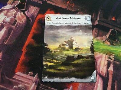 L5R Legend of the five Rings LCG 1x Verschanzte Stellung Promo Neu