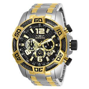 Invicta-Men-039-s-Pro-Diver-25856-Gold-Stainless-Steel-Quartz-Diving-Watch