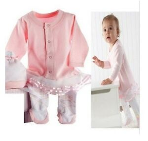 6561d96e578 Image is loading BNWT-Angelina-Ballerina-Long-Sleeve-Footed-Romper-amp-