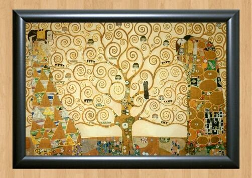 Gustav Klimt The Tree of Life Art Wall Home Decor Photo Poster Picture Print A4