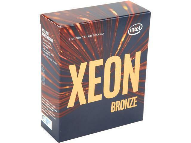 Intel Xeon Scalable Bronze 3104 SkyLake 6-Core 1.7 GHz LGA 3647 85W BX806733104