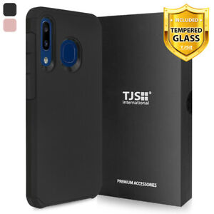 For-Samsung-Galaxy-A20-A30-A50-Phone-Case-TJS-Herculus-Cover-Tempered-Glass